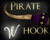 *W* Pirate Hook Plum R