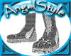 ArchAngel Silver Boots