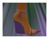 -CT Purple Wedge Heel