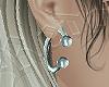 septum earrings silver