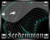 Hybrid Wings TealAmbient