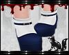 FOX blue kawaii shoes
