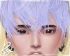Messy Purple Pastel Hair