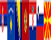 Ex-Yugoslavia Flags