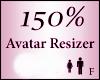 Avatar Resize Scaler 150