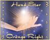 Hand Star (Orange Right)