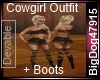 [BD]CowgirlOutfit+Boots
