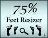 Feet Resizer