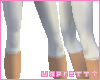 [U] White leggings