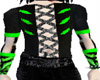 Cyber corset/green