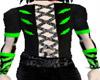 corset/green