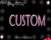 [CCQ]Custom Dress-