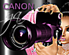 DSL Camera Pink Purple