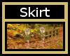 Jersey Gold Skirt