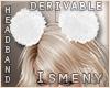 [Is] Fur Headband 2 Drv