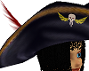 Pirate Hat - Black hair