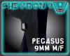 Chevron 9 mm m/f LEFT
