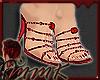 MMK Rose Pearl Sandals