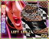 L | rad ankle chains