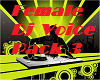 Female Dj Voice Pack 3