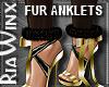 Gilded Sable Fur Anklet