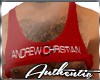 Andrew Christian Red