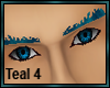 Teal Eyebrows 4
