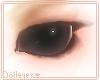 Black Button Doll Eyes