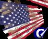 Custom-USA Grunge Flag