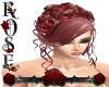 {Rose}Ria red/pink Hair