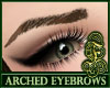 Arched Eyebrows DrkBrown