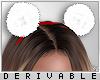 0 | Fur Hairband Small