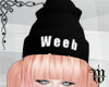 Weeb beanie layerable