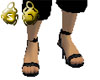 Black Leather Heels Male