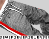 $ grey heathered pants