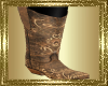 LD~Tan Cowgirl Boots