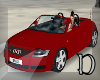 Audi red animated