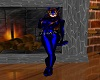 CatWoman Mask Blue