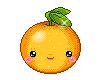 animated orange