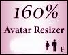 Avatar Resize Scaler 160