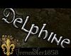 Delphine Name Sign