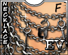 EV Lock & KeY Necklace F