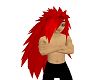 Red Madara Hair