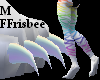 Animal Rainbow Feet M