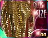 giant sequin gold skrt