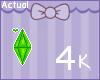 The Sims Plumbob Badge