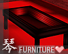 琴 Neon PVC Red Table