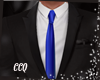 [CCQ]Mens Suit-Blue
