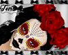 Sugar Skulls Rose Crown