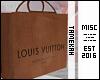 L.V, Shopping Bag